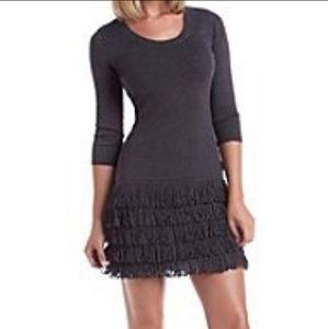 🔴Calvin Klein fringe dress
